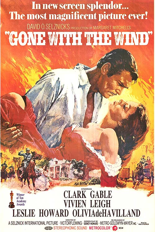 Gone with the Wind ( 1939 )