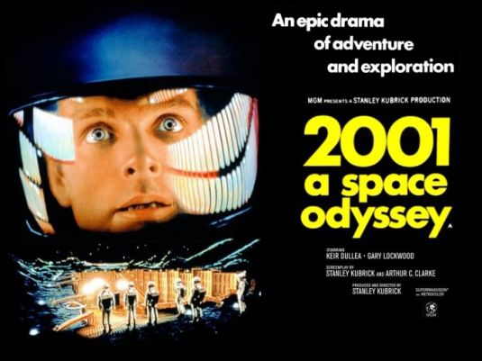 2001 A Space Odyssey (1968)